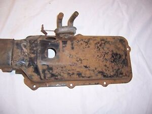 1961 - 1962 Chevy Impala Bel Air Outer Heater Housing Cover and control valve GM