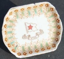 RED STAR LINE RMS OLYMPIC TITANIC ERA PATTERN 1ST CL WISTERIA BUTTER PAT A/F
