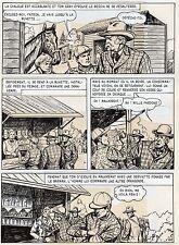 BOB DAN LE CHIEN MEXICAIN PLANCHE ORIGINALE BILL TORNADE ARTIMA PAGE 44