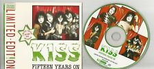 Kiss - Fifteen Years On Interview Picture Disc CD Backtback VG+ to EX cond. D