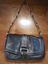 Coach Chelsea Black Pebbled Leather Hobo Handbag F10893