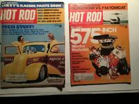 VINTAGE HOT ROD MAGS - SEPT '75 & Oct '75- USED