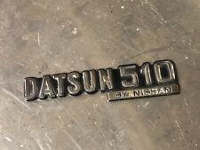 Datsun 510 Emblem