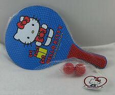 Hello Kitty 40th Sports Lg Paddle Ball Pair Set Beach Table Tennis Ping Pong