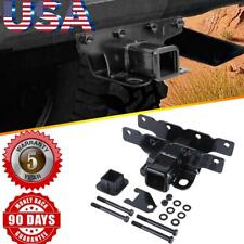 """Trailer Receiver Hitch 2"""" & Cover for 2018-2019 Jeep Wrangler JL 2 and 4 Door"""