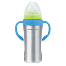 Mabo Love Stainless Steel Baby Bottle - 200ml - Red