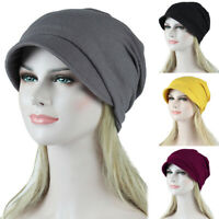 Womens Hair Loss Head Scarf Muslim Stretch Cancer Chemo Turban Wraps Cap Hat New
