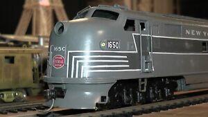 Rare HO Brass 1950's Japan Tetsudo Mokei Sha New York Central AB Diesels Runs Ok