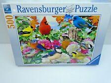 "Ravensburger #142231 ""Garden Birds"" 500 Piece Puzzle ""NEW"""