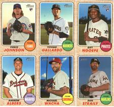 2017 Topps Heritage High Number Baseball - Base Cards - Choose Card #'s 501-725