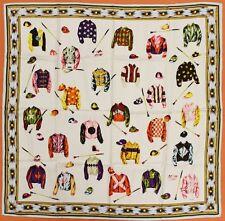 """Classic Wathne Italian Silk Jockey Silks Scarf"""