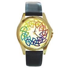 Celtic Knot Anneau Motif art design cercle rond montre-bracelet ** objet neuf **