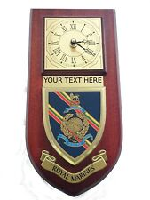 Royal Marines Personalised Military Wall Plaque UK Made for Mod