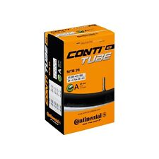 Continental MTB Mountain Bike Inner Tube 26 x 1.75-2.5 Schrader Valve