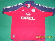 Bayern Munchen Munich 1999-01 Scholl football shirt XXL adidas trikot Jersey