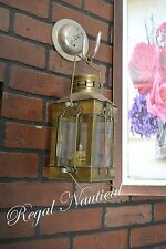 Brass Nautical Ship Oil Lamp Hanging Marine Table Top Decorative Gift Item