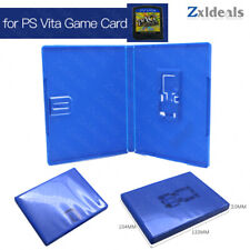 Replacement Case for Playstation PS Vita Game Cart Spare Blue Cartridge  Box