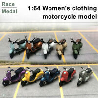 Race Medal 1:64 Figures Diorama Mini Clothing'Motorcycle Model Home Gift For Kid