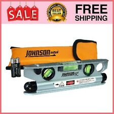 40 6164 7 12 Inch Magnetic Torpedo Laser Level With Softsided Padded