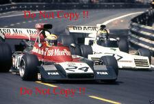 Nanni Galli Williams ISO-MARLBORO IR Gran Premio di Spagna 1973 Fotografia