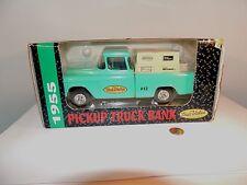Ertl 1955 True Value Pickup Truck Bank with Key #2393  in original box  (7148)