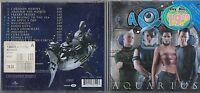 AQUA CD AQUARIUS 12 TRACCE made in the EU  2000 fuori catalogo