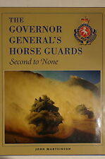 Canadian The Governor General's Horse Guards Second To None Reference Book