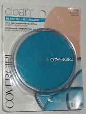 COVERGIRL CLEAN PRESSED POWDER OIL CONTROL MEDIUM LIGHT 535 022700122875 NEW