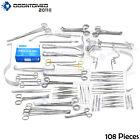 108 Instruments Basic Laparotomy Set Surgical Medical Ds-677