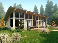1120 Sqft Timber Frame Kit Tf B 1362 Bdr Wood Prefab Diy Building House Cabin
