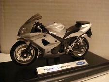 Triumph Daytona 600 Silver WELLY 1:18