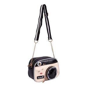 Neu weibliche Flut Umhaengetasche Retro Tasche Mode Kamera Schultertasche k R5W2
