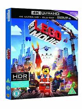 The Lego Movie (4K Ultra HD + Blu-ray Disc, Region Free) *BRAND NEW/SEALED*
