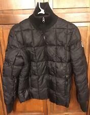 Tommy Hilfiger Jeans USA Ski Team Puffer Jacket Black Women's S Vintage Rare