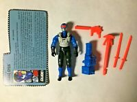 GI JOE ARAH Snake Eyes 1991 V.4 With Filecard And Accessories 99% Complete