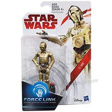 """100% Hasbro Star Wars The Last Jedi Force Link 3.75"""" C-3PO In-Stock 2017"""