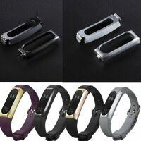 Stainless Steel Frame Holder Strap For XiaoMi Mi Band 2 Smart Bracelet Wristband