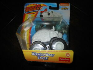 Blaze and the Monster Machines Kissing Bear Truck NEW AND SEALED