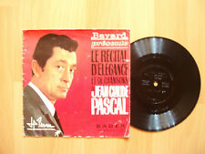JEAN CLAUDE PASCAL  JE VOUS ECRIS rare 45 tours promo 1965