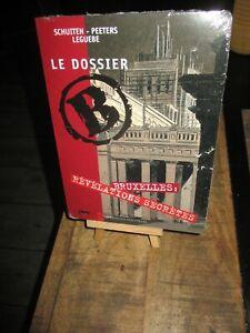 Schuitten & Peeter & leguebe-Le dossier B-DVD neuf sous cello-2007