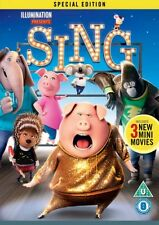 SING { DVD } 2017 Brand new and Sealed - Free P+P - Quick Dispatch