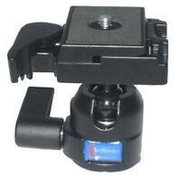 360°Pan Tripod Ball Head Ballhead with Quick Release Plate For Canon NikonCamera