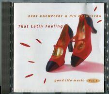 Bert Kaempfert CD that latin feeling © 1997 POLYDOR 537 468-2