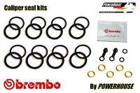 Ducati Multistrada MTS 1200 10-14 front brake caliper seal kit 2010 2011 2012
