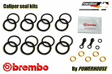 Ducati Multistrada MTS 1200 10-14 front brake caliper seal kit 2010 2011 2012