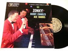 BUDDY CHARLES & ACE HARRIS Zonky! Audio Fidelity mono dg LP
