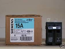 BRAND NEW ITE/Siemens Type BL B215 2Pole 15Amps 120/240Volt  Bolt-On