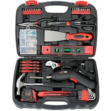 SAVWAY Household Power Tool Rechargeable Cordless Electric Screwdriver Drill Kit