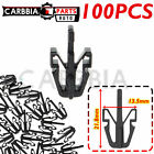 100pcs For Chevy GMC Colorado Canyon Grille Retainer Clips 2004-12 Black Plastic