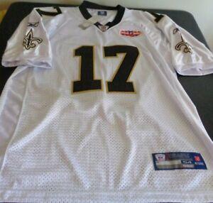 ROBERT MEACHEM New Orleans SAINTS Sewn REEBOK Super Bowl Size 54 Jersey NFL New